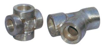 不锈钢承插三通 承插焊接三通